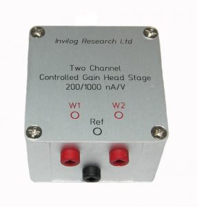 wo-channel head stage for FSCV